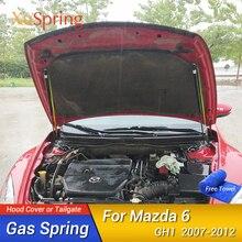 For Mazda6 Mazda 6 22007 2008 2009 2010 2011 2012 GH1 Car Hood Strut Bars Hydraulic Rod Two Side Lift Support Rod