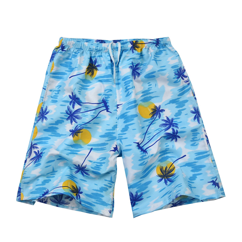 Men Casual Shorts Printed Beach Quick Dry Board Breathable Waterproof  Pant One Size 22 Styles 3