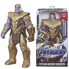 Avengers Marvel Endgame Thanos nieskończoność wojna Titan Hero seria Thanos figurka świąteczne zabawki prezentowe dla dzieci Boy tanie tanio Model CN (pochodzenie) Unisex None 30cm Pierwsze wydanie 5-7 lat 8-11 lat 12-15 lat Dorośli 14 lat 8 lat 6 lat 3 lat