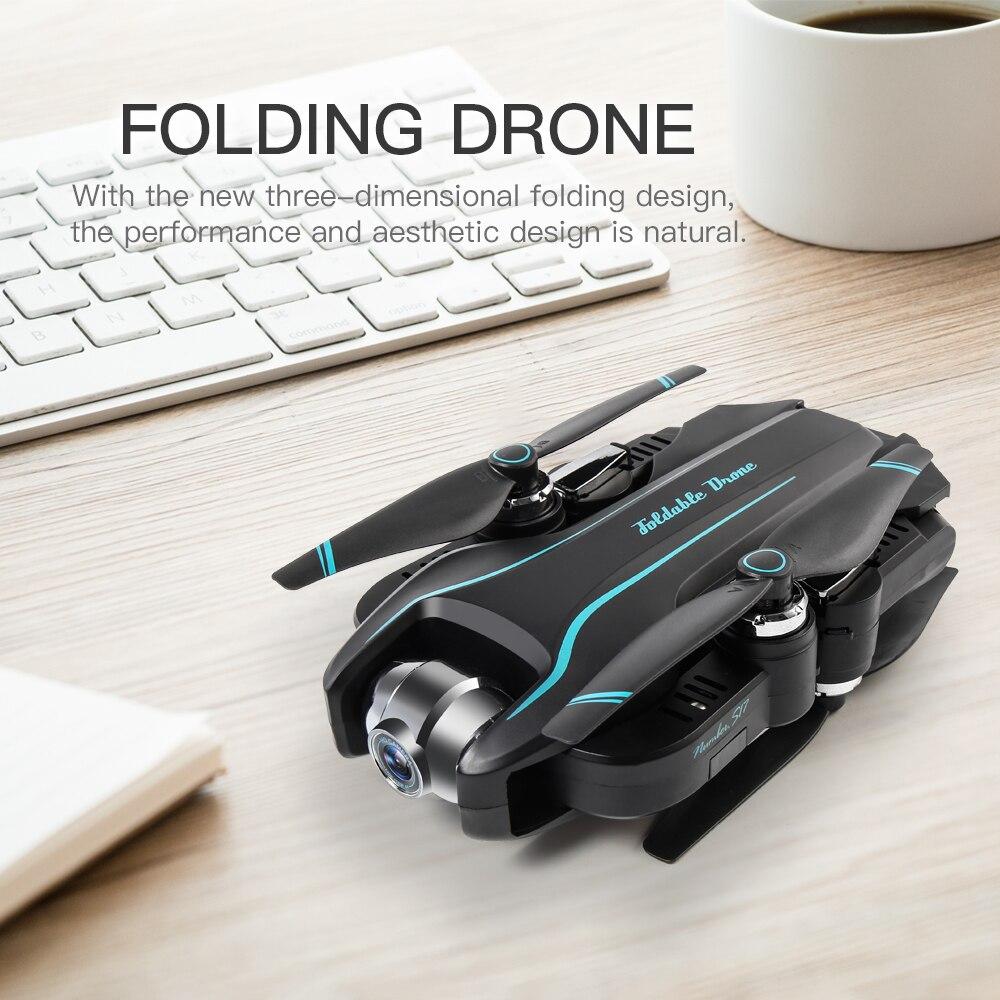 WIFI Drone 4K HD met Verstelbare Groothoek Camera FPV Real Time Antenne Video Opvouwbare Quadrocopter Gebaar Foto RC dron Speelgoed - 5