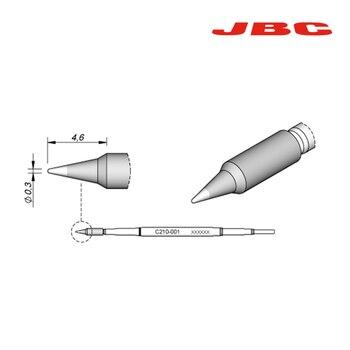JBC cartridges Precision C210 welding head 210-020 210-001 210-009 Conical welding head