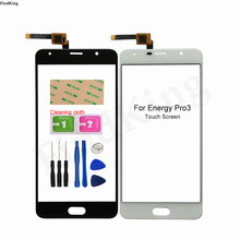 Phone Touch Screen Front Glass For Energy Pro3 Pro 3 TouchScreen Touch Screen Sensor Digitizer Panel Tools Adhesive