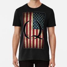 Q QANON AMERICA USA - WHERE WE GO ONE T shirt trump donald trump potus qanon q cbts(China)
