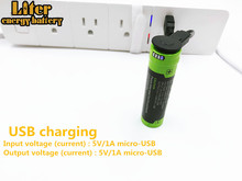 Batterie dordinateur portable 18650 3.7V 3500mAh 5000M USB Li ion batterie Rechargeable 4 indicateur LED chargeur portatif batterie batterie de charge Mobile