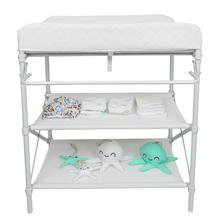 Movable Baby Changing Pad Table Crib Sheet Folding Style Baby Infant Newborn Changing Table Safety Care Station With Wheels HWC