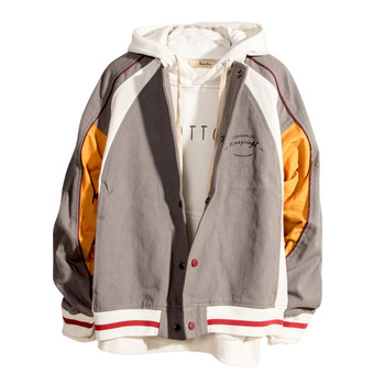 Big Size Bomber Pilot Streetwear Jacket Men Oversized Coat Man Jacket Autumn 2019 Mans Jackets And Coats Winter Brand New II50JK