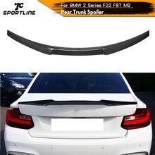 Becquet de coffre arrière en Fiber de carbone, pour BMW F87 M2 F22 220i M235i Coupe 2014 – 2019