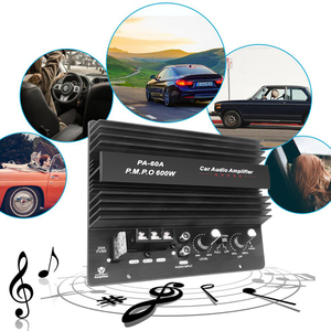 Image 2 - 12V 600W PA 60A High Power Speaker Subwoofer Bass Amplifier Module Car Audio Power Accessories Durable Lossless Amplifier Board