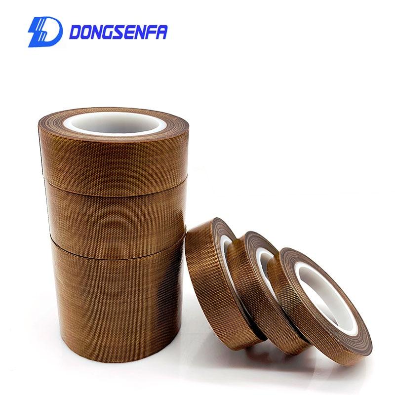 PTFE Tape Resistant High Temperature Adhesive Cloth Insulation 300 Degree Vacuum Sealing Machine 10 Meter*0.13mm