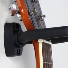 1 pcs Wall Mount Guitar Hanger Hook Non-slip Holder Stand for Acoustic Guitar Ukulele Violin Bass Guitar Instrument Accessories cheap CN(Origin) NONE