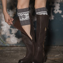 Leg Warmers Women Fashion Knitted Soft Elastic Warmers Machine Washable Boot Cuffs Socks Cover Warm Boot Cuffs Socks цена