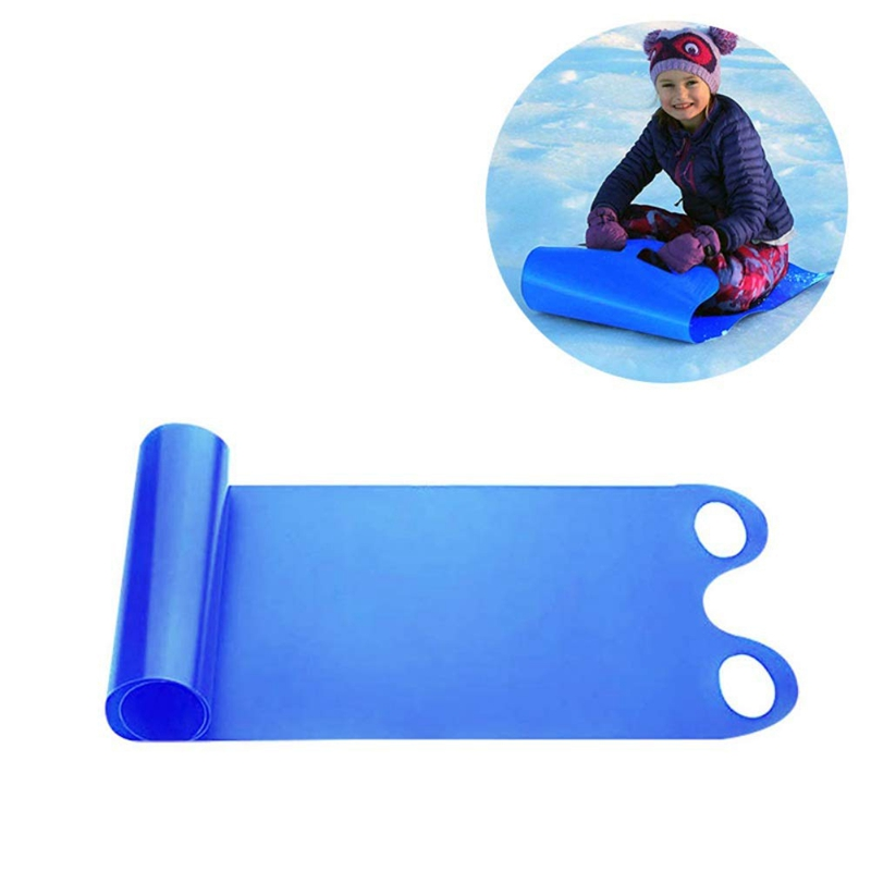 Snowboards & Skis Snow Sled Adult Children Cold Resistant Portable Roll Up Sand Grass Rolling Slider Pad Board Toy