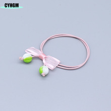 CYHGM girls kawaii elastic hair bands devil diadema enfeite de cabelo infantil little+people accessories brand B03