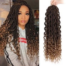 I's a wig Ombre Crochet Braids Faux Locs Hairs Synthetic