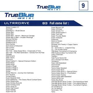 Image 4 - 813 게임 MegaDrive MD 미니 게임 스틱 레트로 게임 콘솔 스틱 4 포트 USB 허브 용 Genesis 용 True Blue Mini Ultradrive Pack