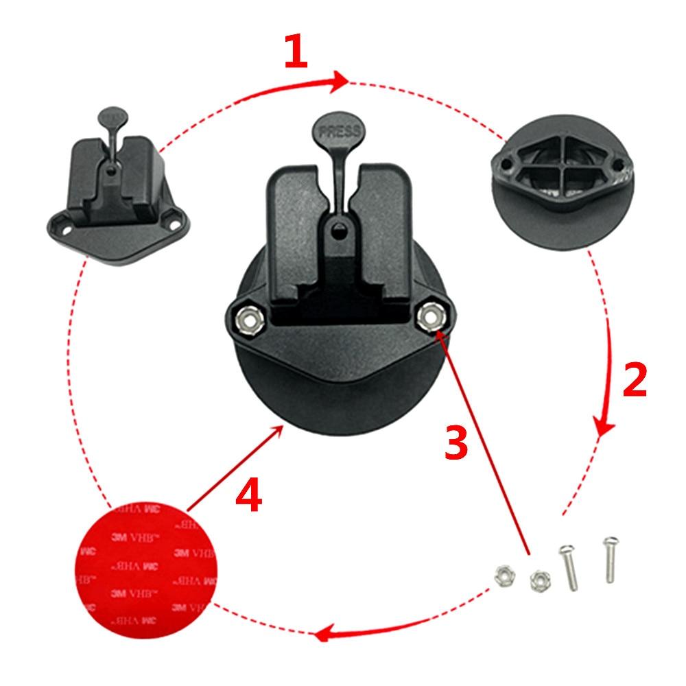 CB Mic Holder Mount car  Walkie Talkie Hand Held Microphone   Bracket Mounting for  YEASU  FT-7800 FT-7900 FTM-100D FT-817  857D