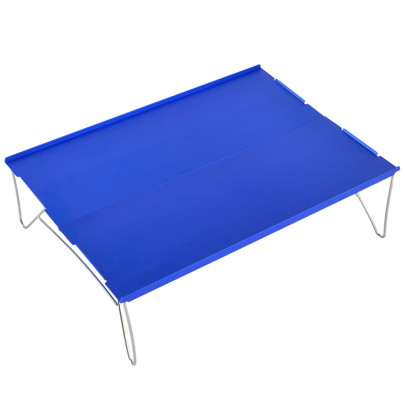 Folding Table Barbecue Picnic Hiking Durable Plate Portable Furniture Mini Desk Camping Single Lightweight High Load Outdoor