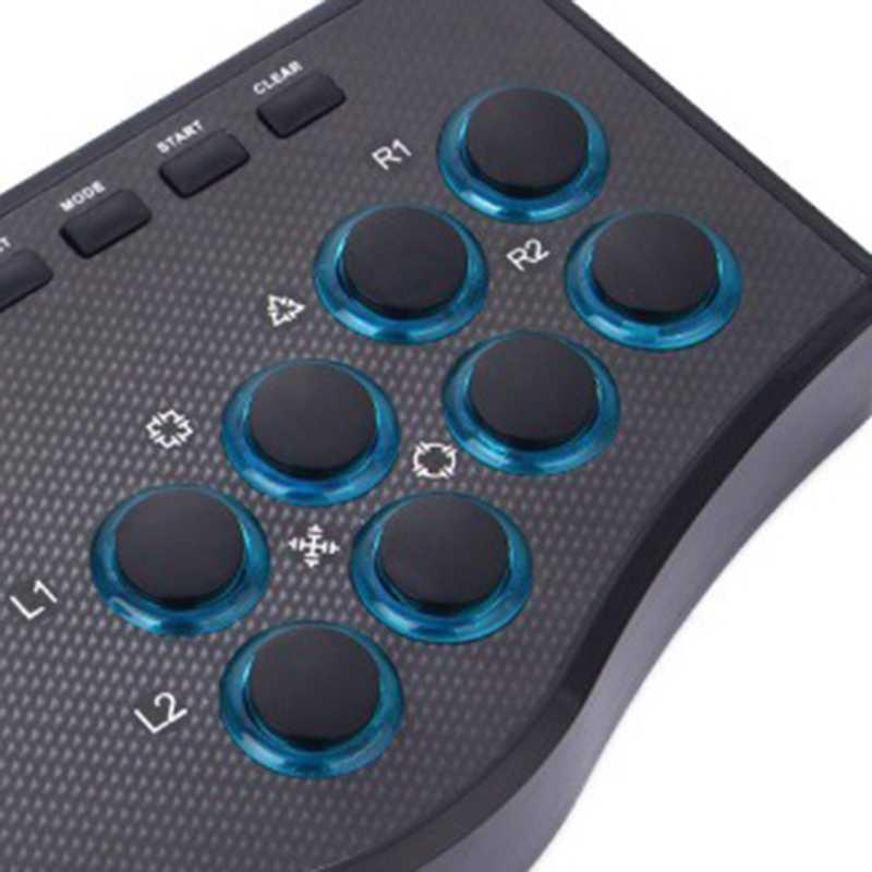 Usb com fio controlador de jogo jogo rocker arcade joystick usbf vara para ps3 computador pc gamepad gaming console