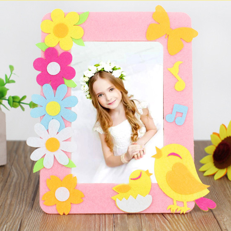Christmas Decoration Photo Frame Kindergarten Lots Arts Crafts Diy Toys Crafts Kids Educational For Children S Toys Girl Gift Craft Toys Aliexpress