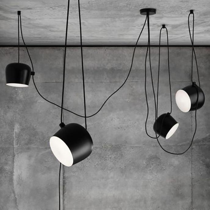 Replica Item Creative Cafe Bar Restaurant Show Case Aim Pendant Light Nodic Modern Lamp