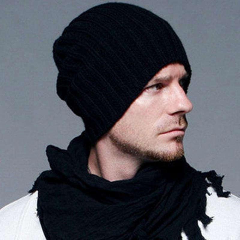 Fashion Women Men Winter Hat   Skullies     Beanies   Women Hats Retro Navy Style   Beanie   Hat Unisex Winter Cap Men Hat Solid
