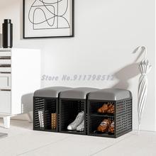 Sofa-Chair Shoe Changing-Stool Living-Room Simple Luxury Small Locker Household Light