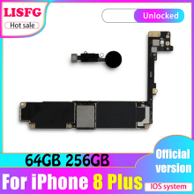 Good Tested Motherboard For iPhone 8 Plus Motherboard With IOS System For iPhone 8 Plus 5.5inch Logic Board Mainboard With Chips 100% working 17 820 2059 a 2006 ma611ll a 661 4235 t7600 2 33ghz x1600 256mb motherboard logic board for imac a1212 2006