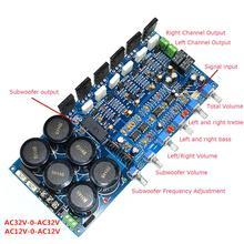 TT1943/TT5200 80W+80W+100W 6×10000UF 2.1 Power Amplifier Finished Board YJ0013 finished s1 integrated power amplifier 80w 80w stereo amplifier reference sf 100 power amp circuit