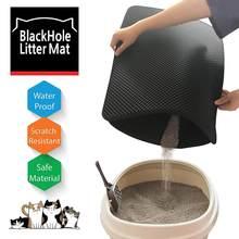 Bac à litière pliable Double couche pour chat et animal domestique, avec filtres étanches, antidérapant, garde le lit propre, piège, bac à sable pour chaton