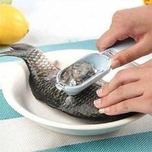 Nettoyage rapide peau de poisson en acier en plastique écaille de poisson décapant détartreur grattoir nettoyant ustensiles de cuisine outil éplucheur