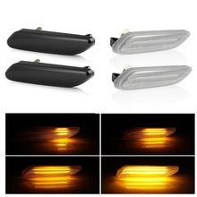 2 stück Led Dynamische Seite Marker Blinker Licht Sequentielle Blinker Licht Für BMW Für Mini Cooper R60 COUNTRYMAN R61 PACEMAN