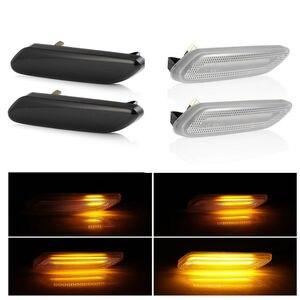 Image 1 - 2 stück Led Dynamische Seite Marker Blinker Licht Sequentielle Blinker Licht Für BMW Für Mini Cooper R60 COUNTRYMAN R61 PACEMAN