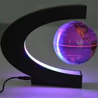 Magnetic Levitation Anti Gravity Globe C Shape Floating Globe Map Teaching Resources Home Office Desk School Supplies Decoration