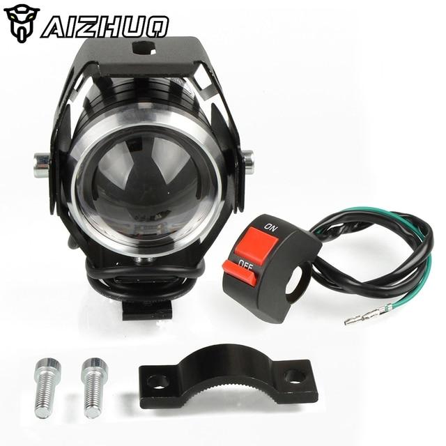 Motorcycle Headlights U5 Headlamp Spotlights Fog Head Light For HONDA XLV 600 650 700 TRANSALP NX 650 FMX 650 XRV650 TRX 300EX 2