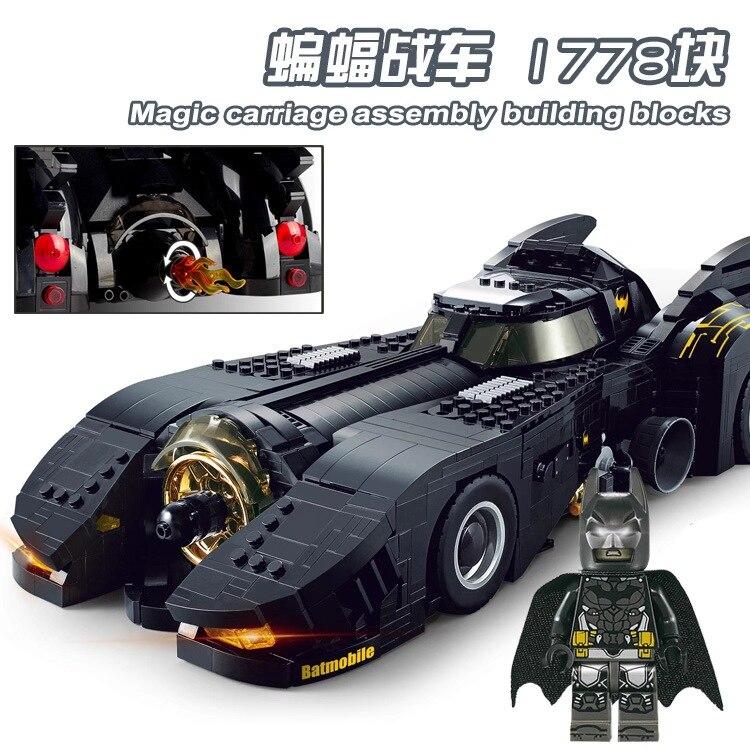 >Decool 7144 Technic The Ultimate Batmobile Compatible <font><b>Legoing</b></font> <font><b>Car</b></font> Set Bulding Blocks MOC-15506 DC Super Heroes Bricks Toys