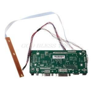 """Image 4 - Placa de controlador lcd hdmi dvi, vga áudio módulo driver diy kit 15.6 """"display «1366x768 1ch 6/8 painel de 40 pinos"""