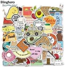 20наборы/лот Blinghero Art наклейки 50шт/набор неповторяющихся скрапбукинга граффити ноутбук камера автомобиля наклейка гитара BH0582