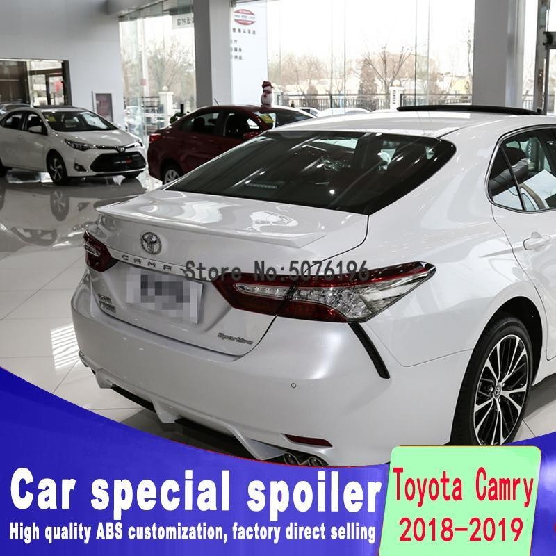 For <font><b>Toyota</b></font> <font><b>Corolla</b></font> 2018 to <font><b>2019</b></font> ABS material new type <font><b>spoiler</b></font> any color or primer car rear wing car modified <font><b>spoiler</b></font> image