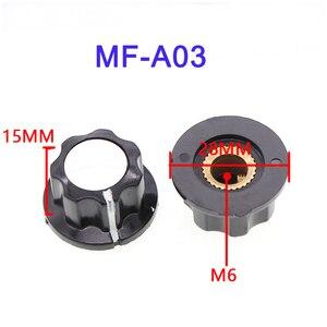 1 комплект WTH118 2 Вт 1A резистор из углеродистой пленки поворотный потенциометр 4,7 K 5,1 K 5,6 K 6,8 K 10K 22K 33K 47K 100K с ручка с цифровой шкалой пластины
