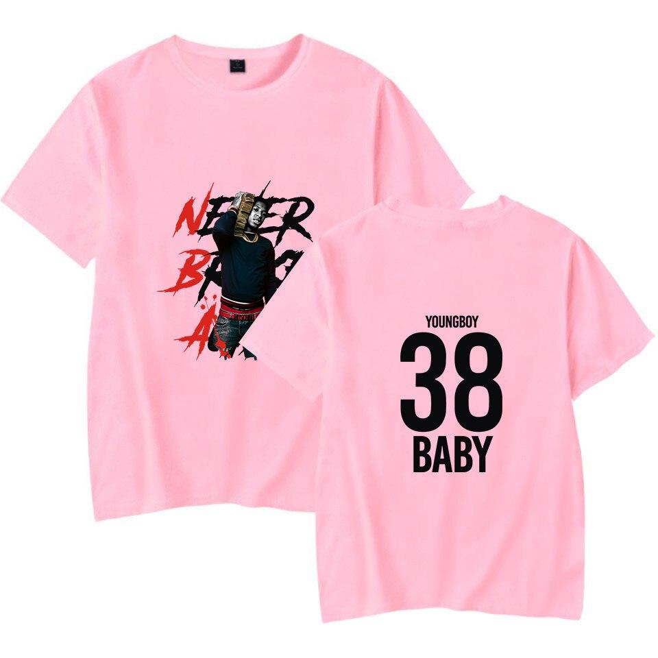Streetwear Hip Hop YoungBoy Never Broke Again T Shirt Harajuku Casual Short Sleeves Men Women T-shirt Hipster Cool Graphic Tees