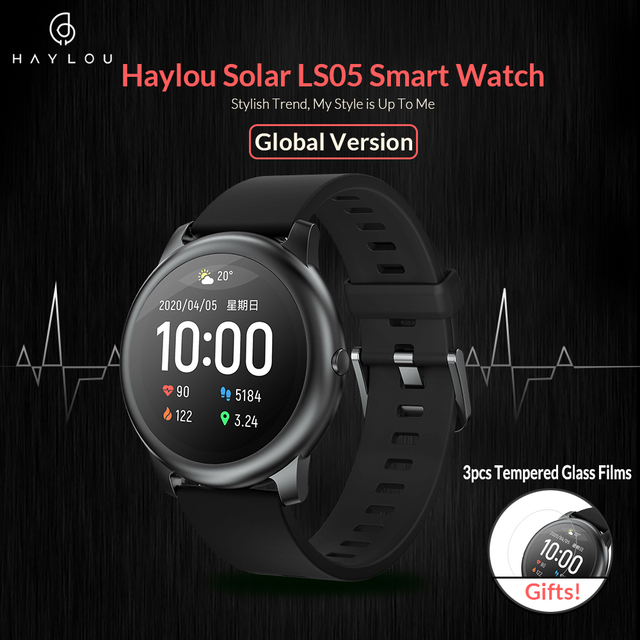 Haylou montre intelligente solaire LS05 Sport 1
