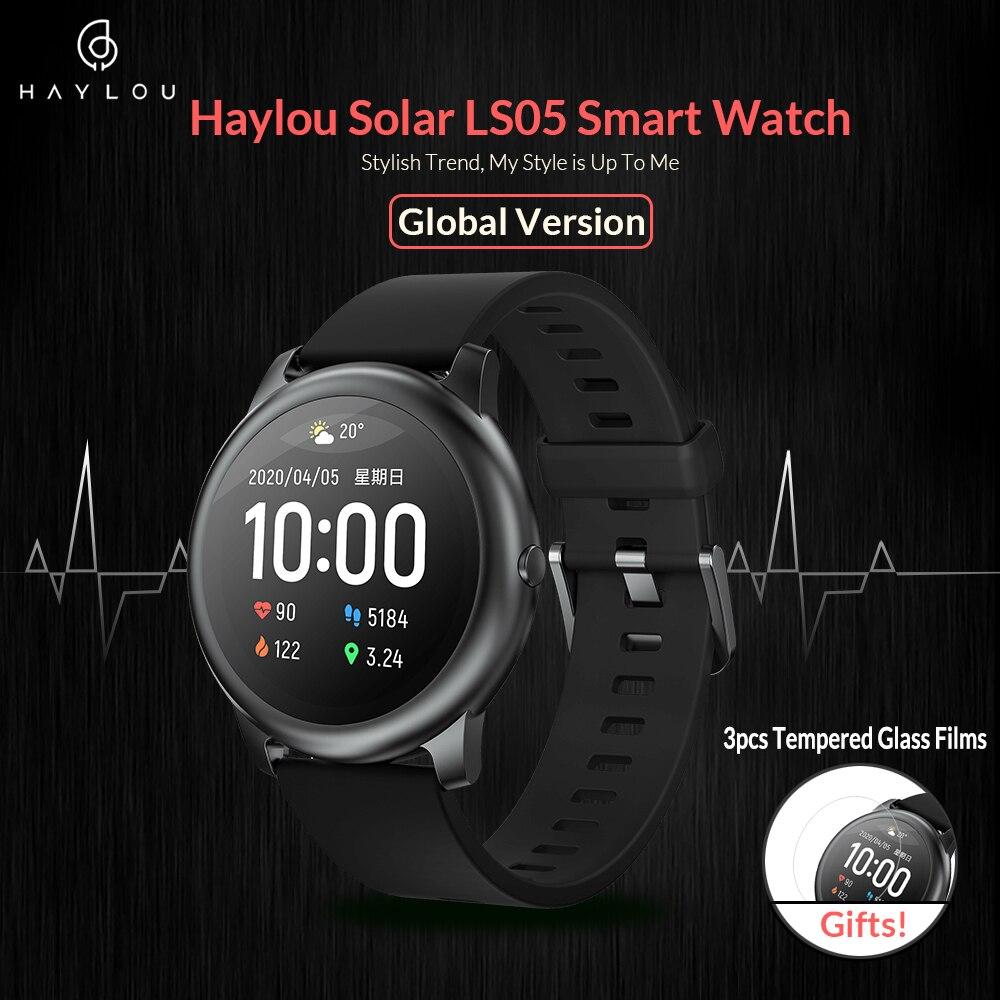 Haylou ls05 esporte solar relógio inteligente freqüência cardíaca monitor de sono ip68 à prova dip68 água ios android versão global para xiaomi youpin|Relógios inteligentes|   - AliExpress