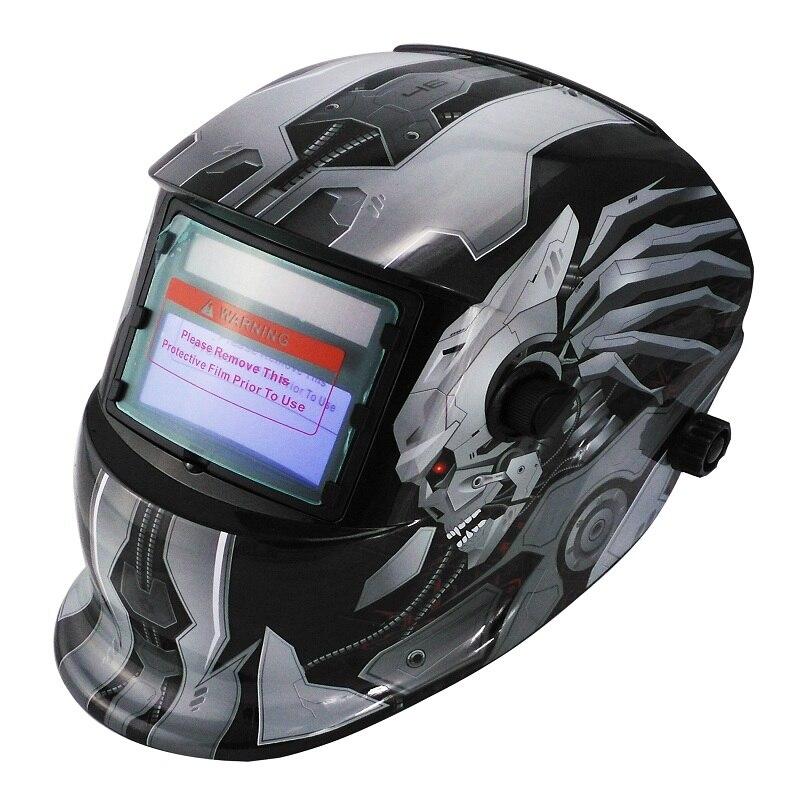 Solar automatyczne przyciemnianie regulowany zakres 4/9-13 MIG MMA elektryczna maska spawalnicza kask spawalniczy do spawarki