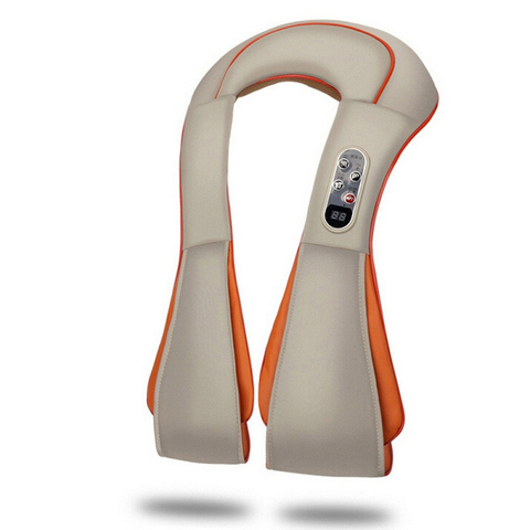 u forma shiatsu eletrica volta pescoco ombro corpo massageador infravermelho batendo massageador massagem casa relaxamento