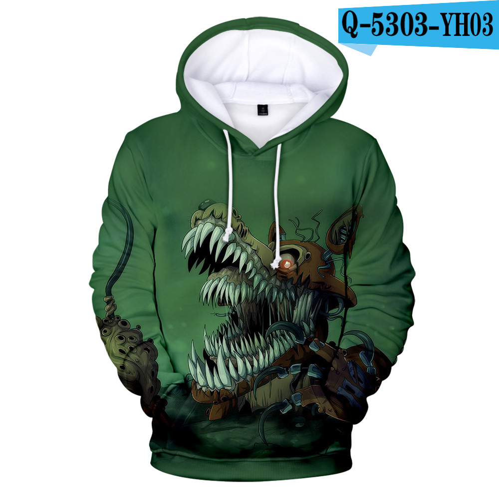 Freddys-Sweatshirt Pullovers Fnaf Hoodies Winter Five-Nights Brand for Boys/girl School