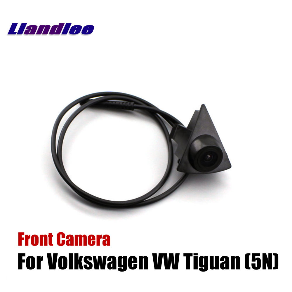 Wide Degree CCD Front View Camera Logo Embedded Waterproof for Audi Q5 2009-2017