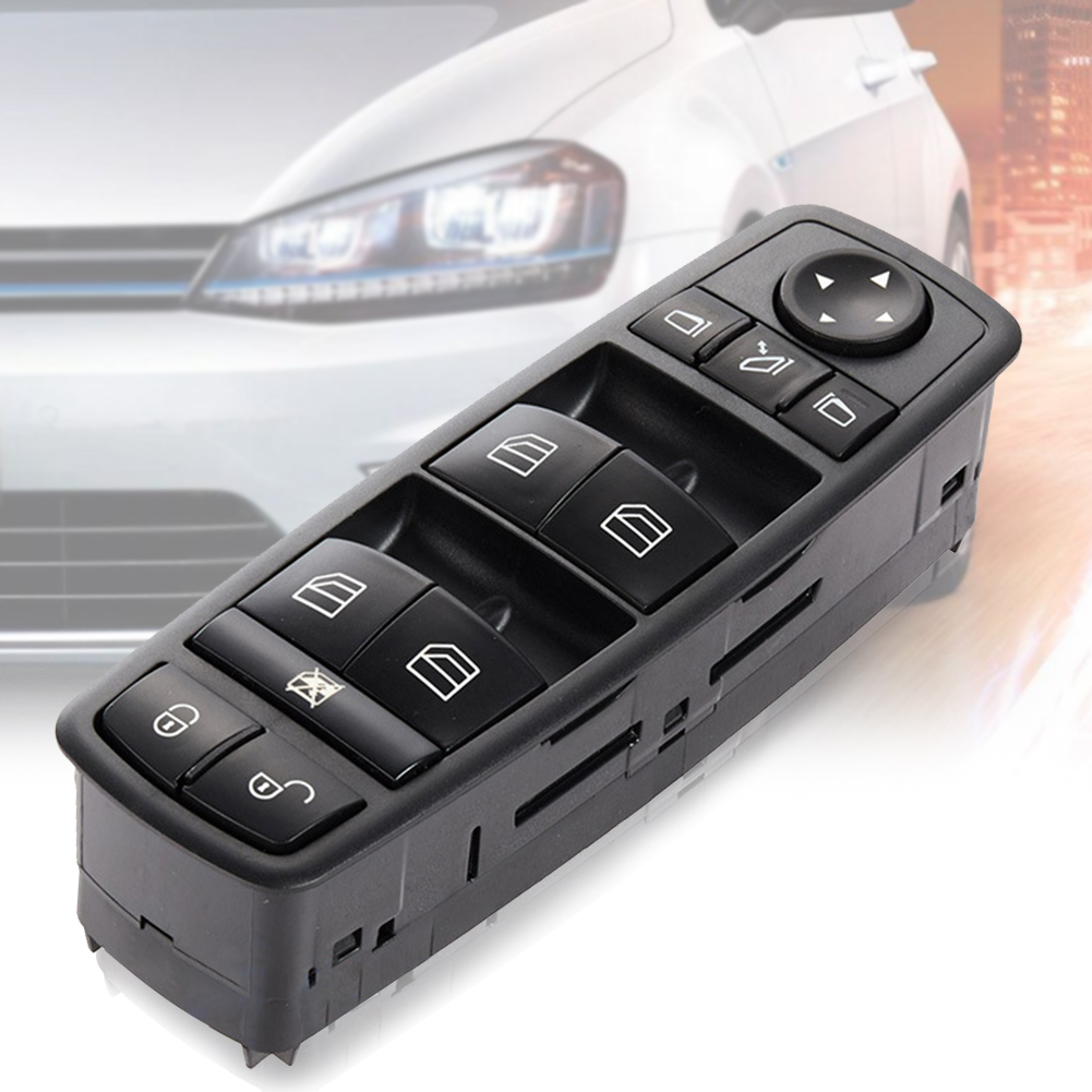 <font><b>1698206710</b></font> Accessories Durable Control Window Switch Master Power Portable Car Supplies Auto Electric Replacement Tool For Benz image
