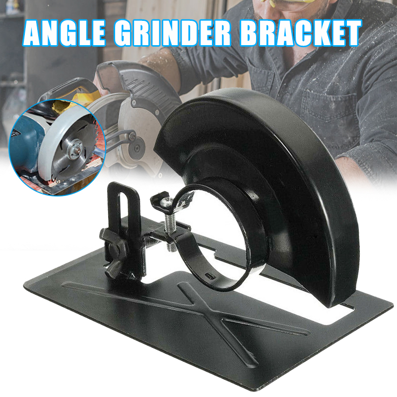 Simple bracket Angle Grinder Conversion Tool Bracket Holder Base Safety Guard Shield Case Accessories P666|Hasps| |  -