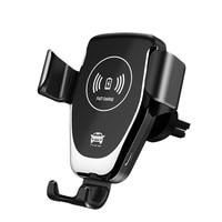 Auto drahtlose ladegerät 10W schnelle ladestation für iphone 8 plus X XS Samsung S8 S9 schnelle lade telefon halter xiaomi huawei-in Anti-Rutsch-Matte aus Kraftfahrzeuge und Motorräder bei