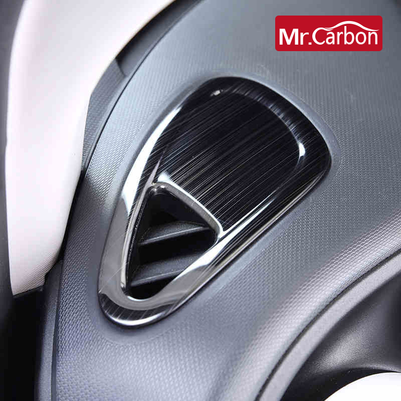 Car Air Conditioner Outlet Decoartion Stricker Car Styling For Mercedes Smart fortwo 453 forfour Modification Accessories|Automotive Interior Stickers| |  - title=